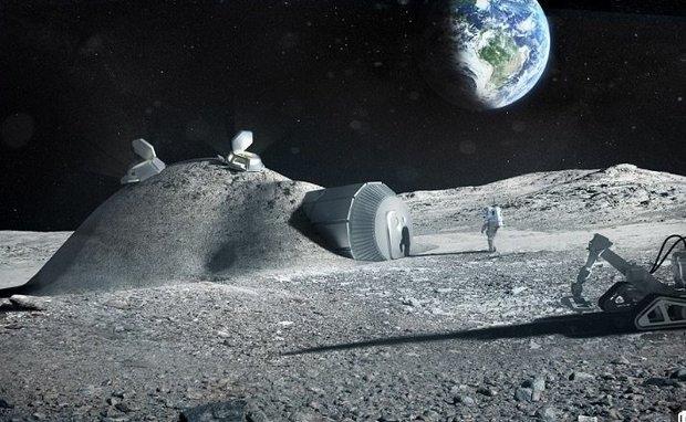 ЕКА собирается начать копать шахты на Лунe через 15 лет