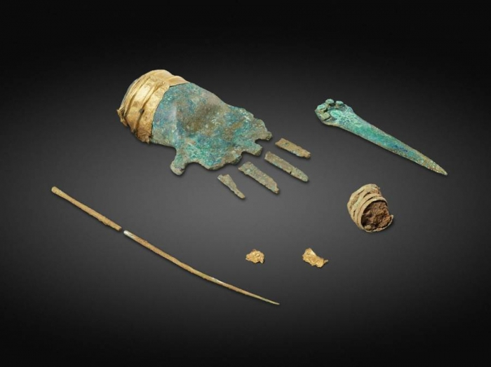 В Швейцарии обнаружен протез руки из бронзового века (см. на фото)