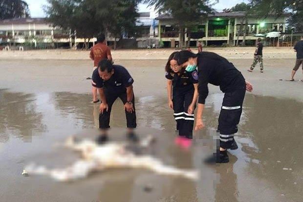 Обезглавленное тело с англоязычным тату обнаружено на побережье в Таиланде