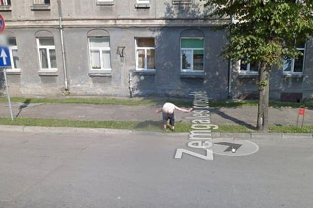 Пользователи Google Карт заметили что-то очень вульгарное на снимке Street View