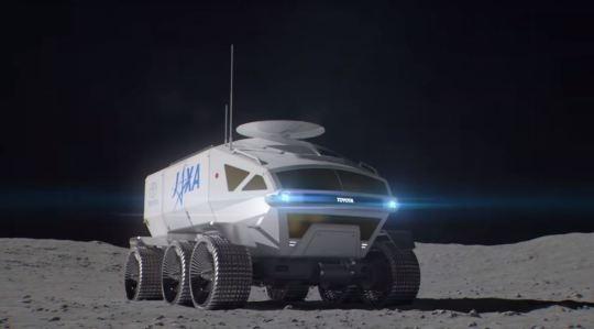 Японцы отправляют Тойоту на Луну
