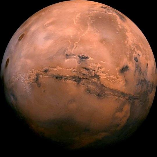 Открытие подземной водной системы на Марсе может указывать на мрачное будущее, ожидающее Землю