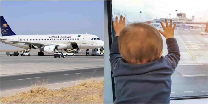 Самолет «вернулся в порт вылета после того, как мать вспомнила, что её ребенок остался в зале ожидания»