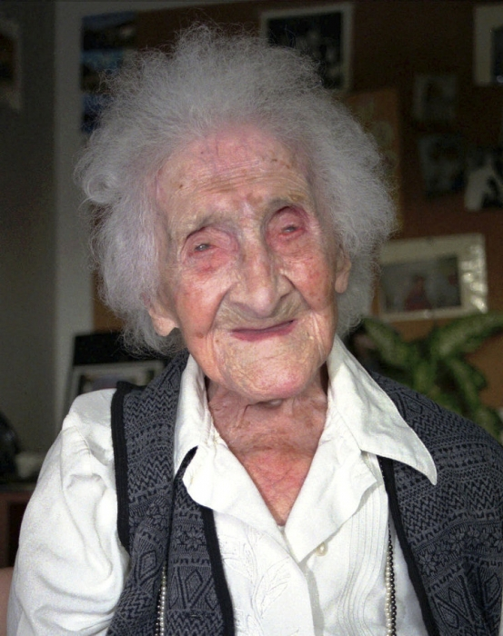 Старейшая женщина в мире Жанна Калмент, возможно, подделала свой возраст