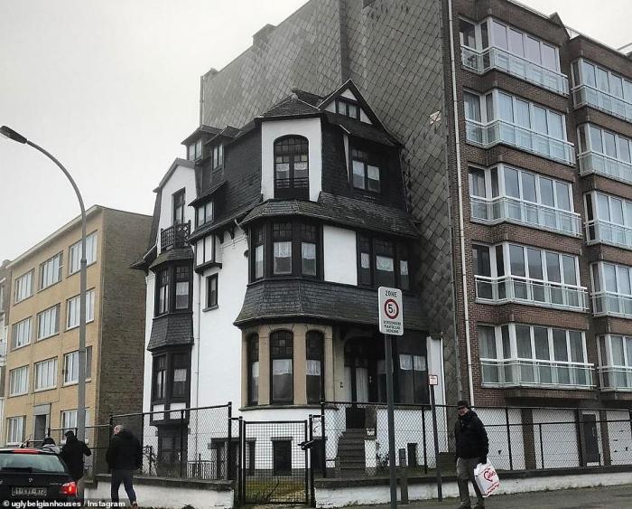 Веселая страничка в Инстаграм с фото самых уродливых домов в Бельгии