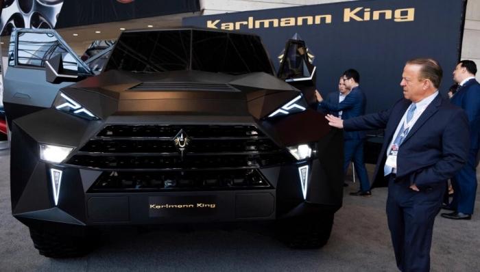 Пуленепробиваемый «танк» Karlmann King - самый дорогой внедорожник в мире по цене в 1,6 миллиона фунтов