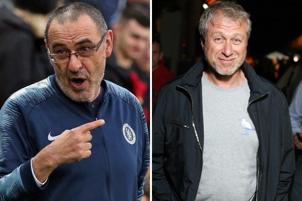 Главный тренер Челси Мауриццио Сарри считает, что Роман Абрамович может уволить его