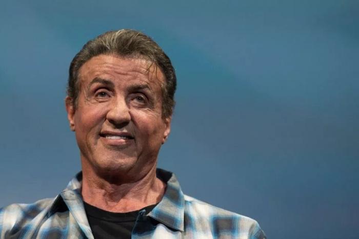 72-летний Сильвестр Сталлоне вышел продвигать новый фильм Рэмбо на Каннском кинофестивале