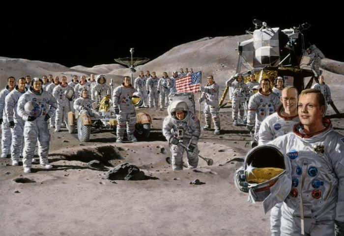 Астронавты США были «убиты, чтобы скрыть обман с приземлением на Луну»