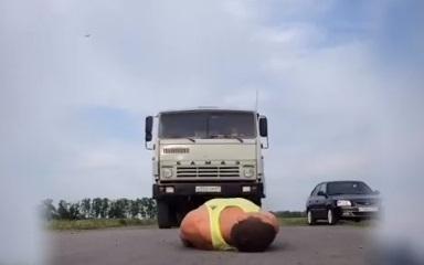 Смельчака из Ростова-на-Дону от смерти отделяло всего 4 сантиметра