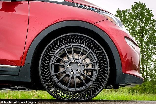 Не прокалываемые «безвоздушные» колеса, дешевле, долговечнее и лучше для окружающей среды, чем традиционные