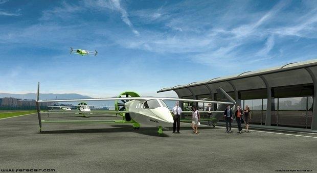 Самолет с тремя крыльями, который не нуждается в аэропортах, появится в небе Англии через шесть лет