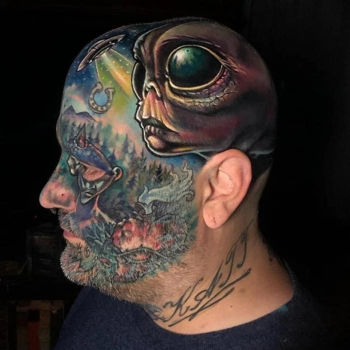 Из-за этих ужасных татуировок на лице эти парни станут безработными и не только