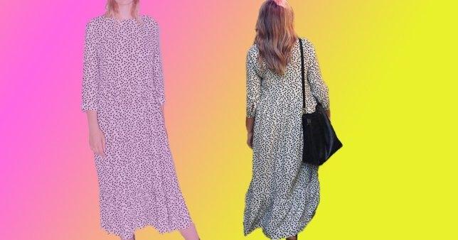 Zara в своём аккаунте в Инстаграме показала новое платье