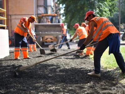 В рамках федеральных программ в Туле благоустраивают дворы и ремонтируют дороги