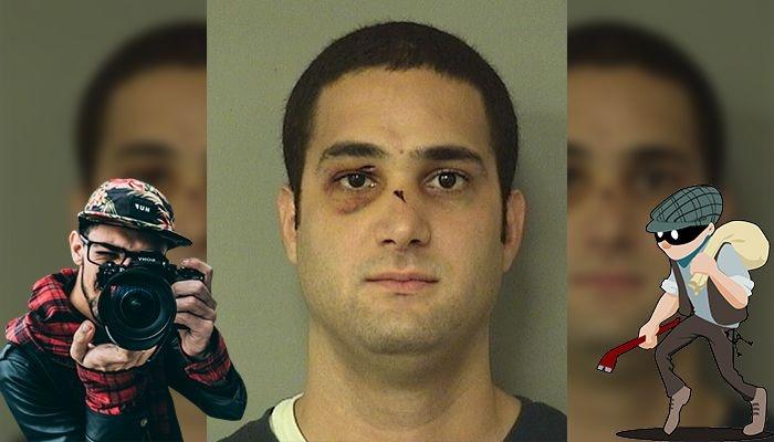 Грабитель делал запись своего собственного ограбления и показывает его полиции