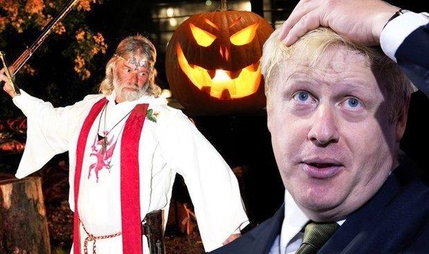 Солнцестояние по королю друидов Артуру указывает, что Борис Джонсон исчезнет к 31 октября
