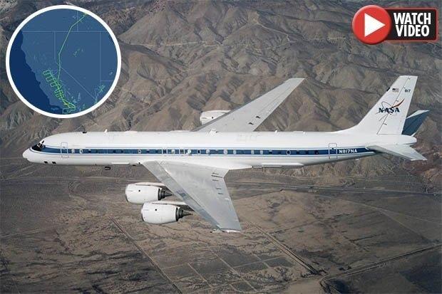 Самолет НАСА «сканирует разлом Сан-Андреас», вызывает опасения неизбежности «Большого» землетрясения