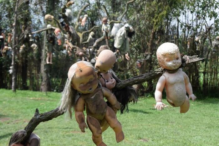 Страшный туристический аттракцион «Остров кукол с привидениями», самая жуткая достопримечательность Мексики