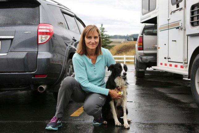 Женщина, уволившаяся с работы для поиска пропавшего колли, нашла ее через 57 дней