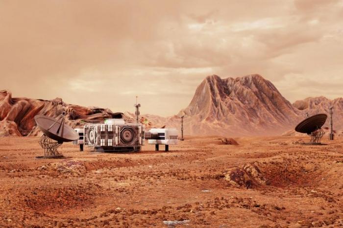 На Марсе может жить один миллион человек, если они не против, что будут питаться насекомыми