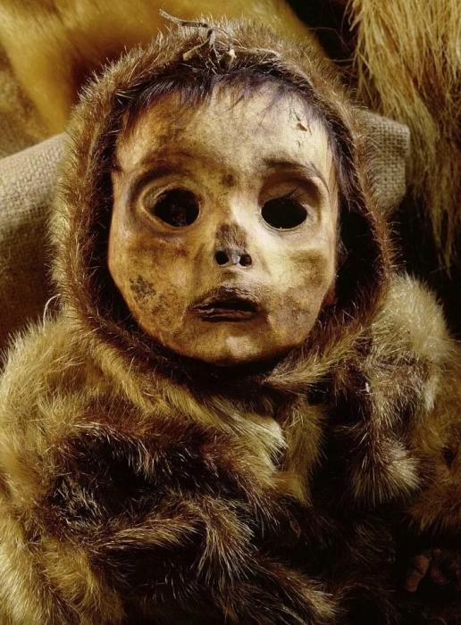 Жуткие мумии, включая ребенка, похоронненого заживо 500 лет назад, «самые сохранившиеся мумии в Северной Америке»