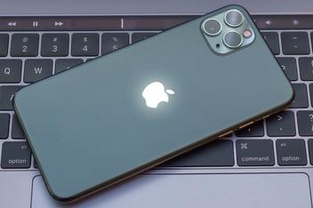 Яблоко на задней стороне iPhone может превратиться в индикатор.