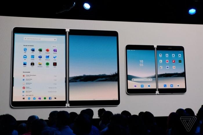 Microsoft анонсировали смартфон на Android.