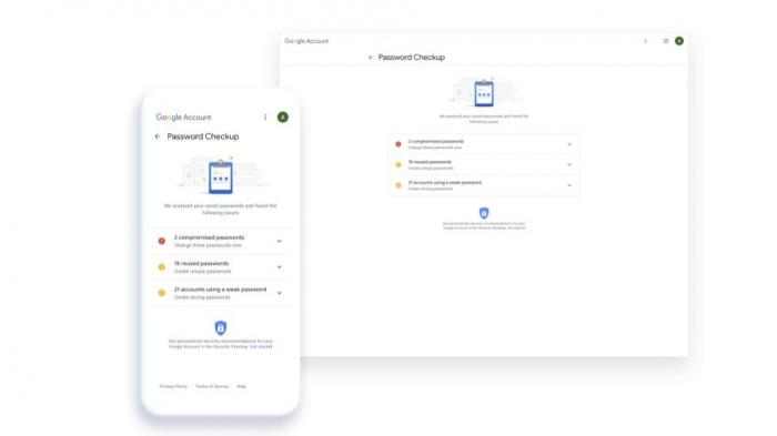 Google встроит проверку безопасности в менеджер паролей.