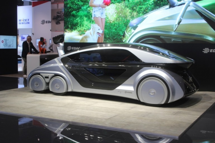 Немецкие инженеры создали концепцию универсального автомобиля будущего.