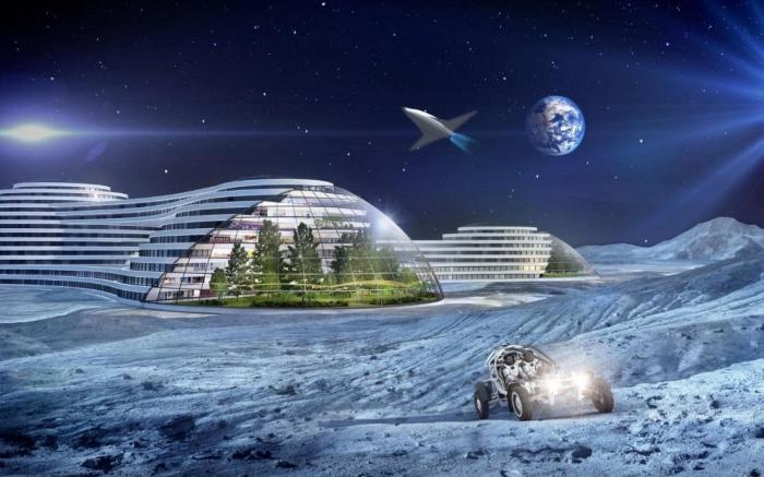 Россия планирует построить атомную гостиницу на Луне всего за девять лет