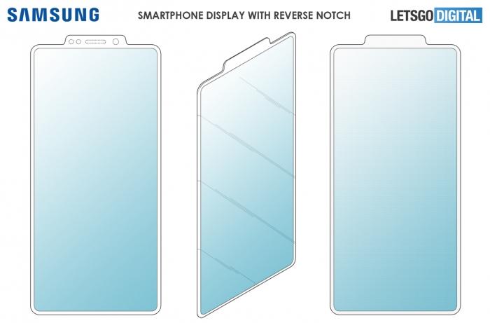 Компания Samsung запатентовала перевернутую