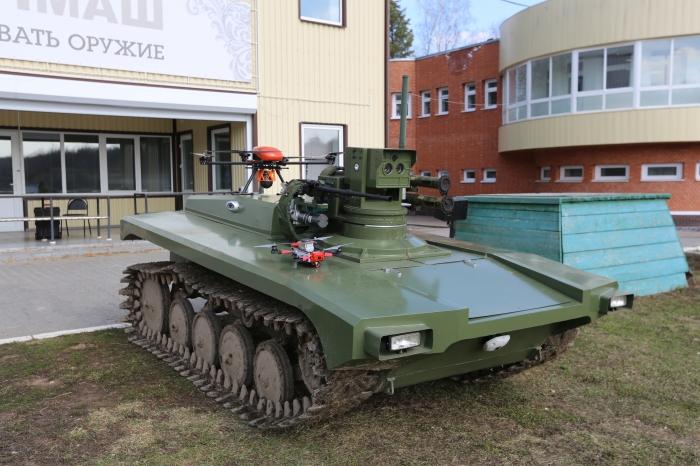 Россия представляет нового военного робота, уничтожающего цели со смертельной точностью