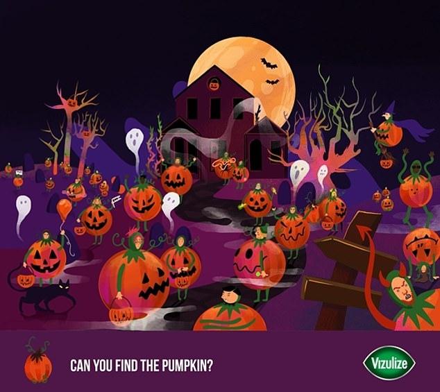 Праздничная головоломка на Хеллоуин бросает вызов всем, кого еще на похитили монстры в эту праздничную ночь