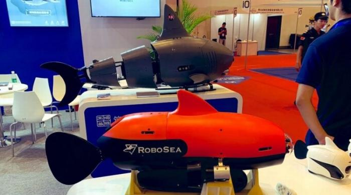 Китай представляет стелс подводную лодку «Робо-Акула», способную к быстрым миссиям