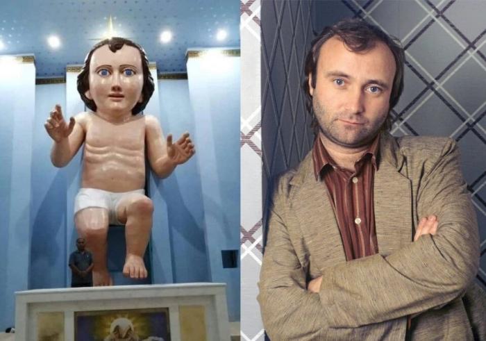 От Даниэля Крейга в роли римского императора до древнеегипетского Майкла Джексона двойники статуй знаменитостей