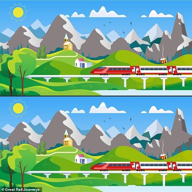 Найдите восемь различий в двух красивых картинках, но сможете ли вы побить 58-секундный рекорд?