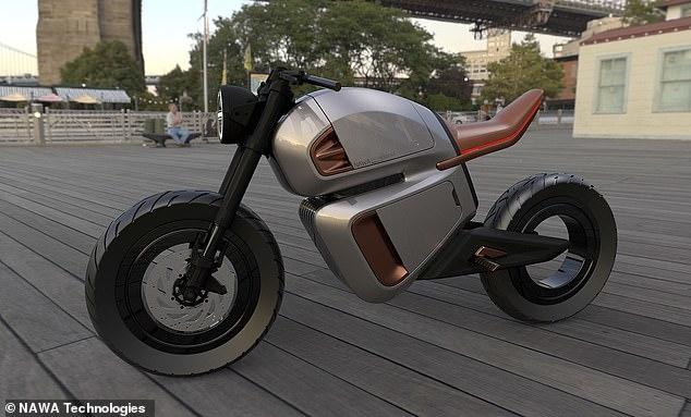 Футуристический новый e-мотоцикл может собирать до 90 процентов своей тормозной энергии