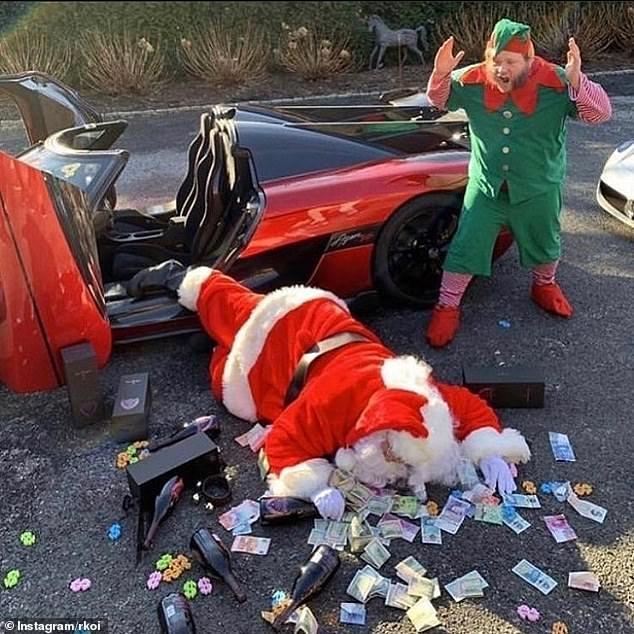Богатые дети Инстаграм щеголяют рождественскими торжествами, дизайнерскими подарками и роскошных спортивными машинами