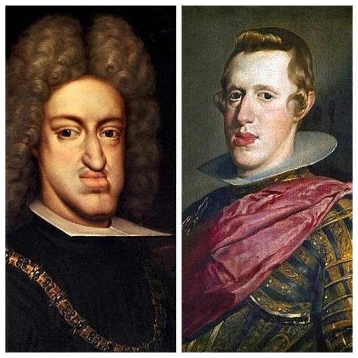 200 лет кровосмешения среди королевских особ Европы привели к лицевой деформации, известной как «габсбургская челюсть»