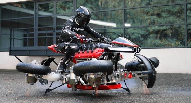 Всего за £380 тысяч можно купить необыкновенный мотоцикл, который превращается в летающий