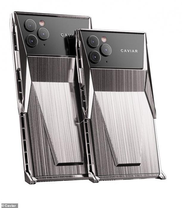Встречайте Киберфон! Российский производитель элитных гаджетов представил модифицированный iPhone 11 Pro, имитирующий Кибертрaк Tesla