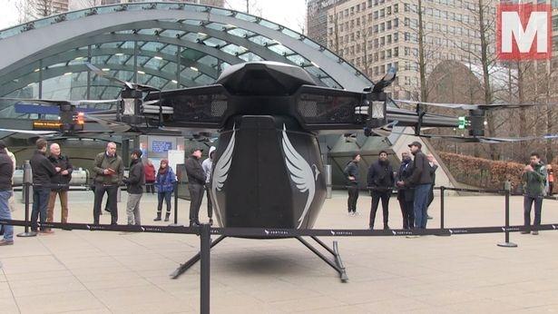 Внутри «летающего такси», которое вскоре сможет перевозить пассажиров по Лондону