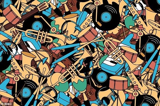 Музыкальная головоломка бросает вызов всем. Найдите микрофон, затерявщийся в инструментах. Надо побить 60-секундный рекорд!