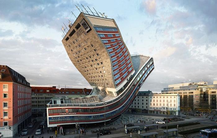 Лучшие фото из дурацкой постмодернистской архитектуры из новой книги