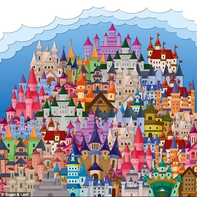 В этой головоломке надо найти дракона, спрятанного среди замков. Но надо побить 60-секундный рекорд.