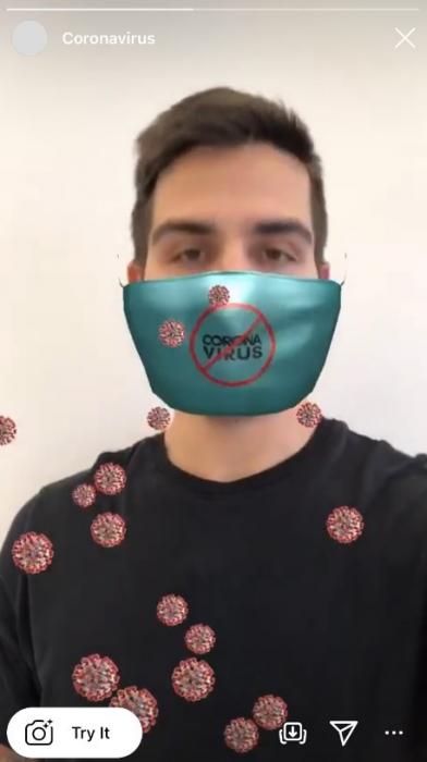 Пользователи Инстаграм заслуженно ругают тех пользователей, которые придумали AR-фильтры на тему коронавируса