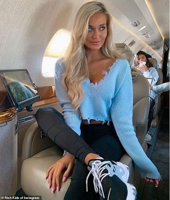 Богатые детки Инстаграм справляются со вспышкой КОВИД 19 при помощи дизайнерских масок, частных самолетов и супер-яхт