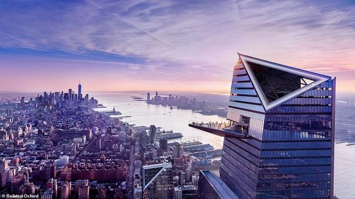Компания Hudson Yards открывает 335-метровую смотровую площадку со стеклянным полом. Самую высокую в Западном полушарии