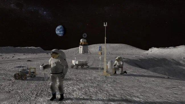 НАСА раскрывает план колонизации Луны. Там будет лунный ровер и четырехместное жилье для астронавтов